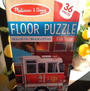 Other - Fire Truck floor puzzle